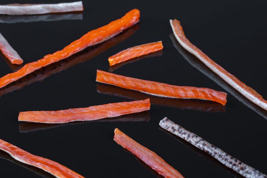 Форель соломка копченая- 100 гр