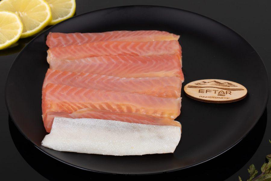 Форель брюшки соленые — 200 г.