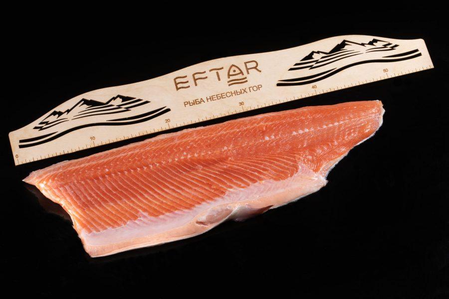 Филе форели свежемороженое ( TRIM B, E ) — из рыбы 3+ кг
