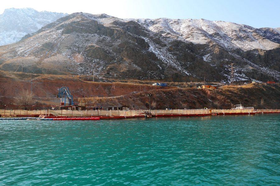 Токтогульская ГЭС форелевое хозяйство